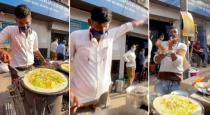 Flying dosa viral video